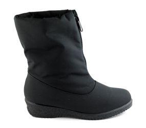 Toe Warmers - Jennifer Black Fabric Boot