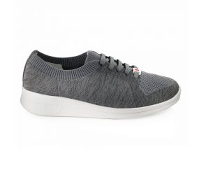 Berkemann - Eila Gray/Darkgrey Knit Oxford