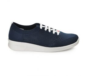 Berkemann - Eila Navy Knit Oxford