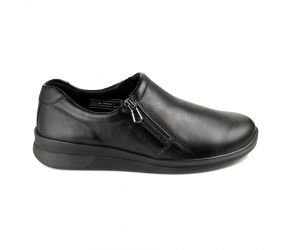 Berkemann - Edina Black Calfskin Zip On