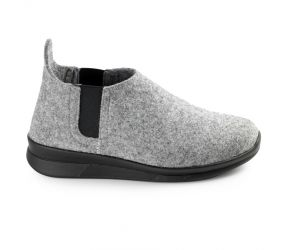 Berkemann - Bente Light Grey Felt Moc