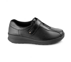 Berkemann - Susanna Black Stretch Velcro