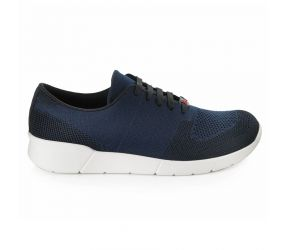 Berkemann - Linus Navy/Black Comfort Knit Oxford