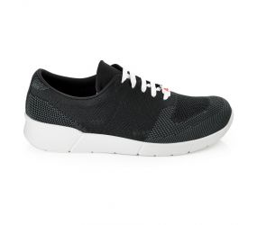 Berkemann - Urs Black/Gray Knit Oxford