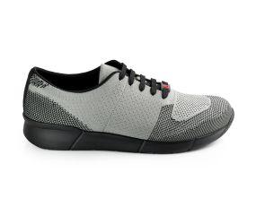 Berkemann - Urs Gray/Black Knit Oxford