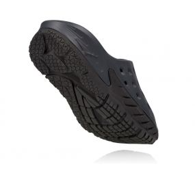 Hoka One One - W Ora Recovery Slide Black/Anthracite
