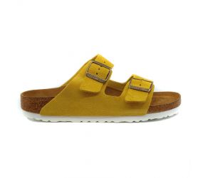 Birkenstock - Arizona Soft Footbed Ochre Suede