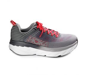 Hoka One One - M Bondi 6 Alloy/Steel Gray Wide