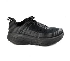 Hoka One One - M Bondi 6 Black/Black Wide