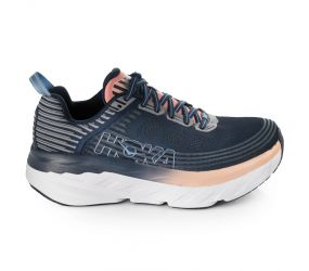 Hoka One One - W Bondi 6 Mood Indigo/Dusty Pink Wide
