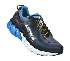 Hoka One One - M Arahi 2 Black/Charcoal Gray - Wide