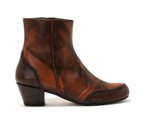 Tape - Aveiro Rust/Brown Lthr Bootie