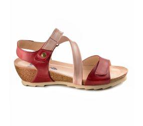 Wanda Panda - Bilma Oxide Red Combi Sandal