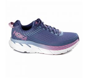 Hoka One One - W Clifton 5 Marlin/Blue Ribbon Wide