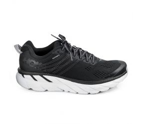 Hoka One One - W Clifton 6 Black/White Wide
