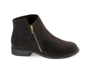 BeautiFeel - Monique Black Suede Boot