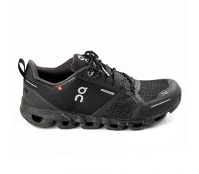 On Running - Men's Cloudflyer Black/Lunar Waterproof