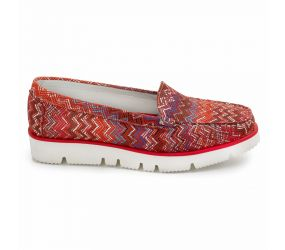 Vittoria Mengoni - Red Multi Slip On