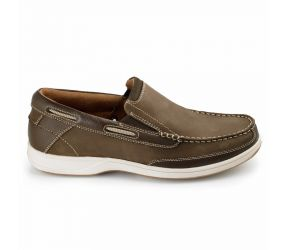 Florsheim - Lakeside Slip Brown Nubuck