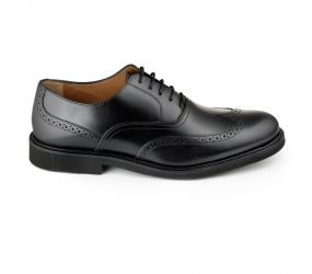Florsheim - Gallo Wing Tip Oxford Black