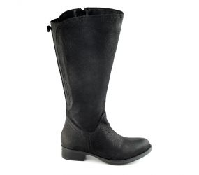 JJ Footwear - Flensburg Black Leather N-1XW