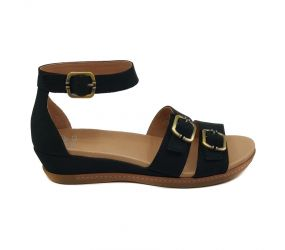 Dansko - Astrid Black Milled Nubuck Sandal