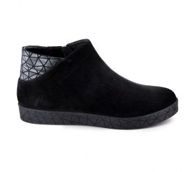BeautiFeel - Nana Black Suede Boot
