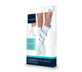 Sigvaris - Diabetic Calf White 8-15