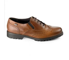 Valleverde - Tan Leather Wing Tip Oxford