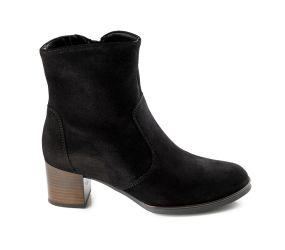 Ara - Finley Black Suede Pant Boot