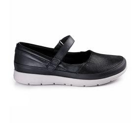 New Feet - Mary Jane Black Stretch
