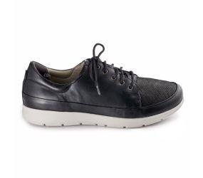 New Feet - Oxford Black Stretch