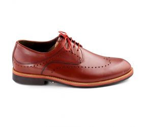 Durea - Cognac Leather Wingtip