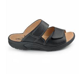Ganter - Fabia Black Leather Sandal
