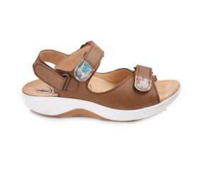 Ganter - Genda Tobacco Leather Sandal