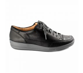 Ganter - Giulietta Black Leather Oxford