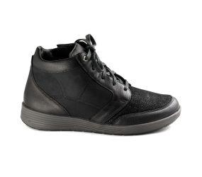 Ganter - Klara Black Leather/Nubuck/Stretch Boot