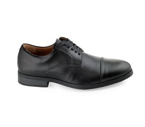 Weber Schuh - Cap Toe Blucher Black