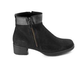Hartjes - XS Hip Black Nubuck Pant Boot