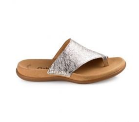 Gabor - Metallic Toe Loop Sandal