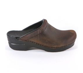 Dansko Sonja Antique Oiled Brown