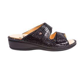 Finn Comfort Jamaica Crocodile - Black