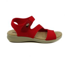 Valleverde - Red Lycra Sandal