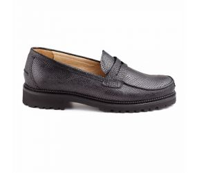 Christian Dietz - Bolzano Black Snake Loafer