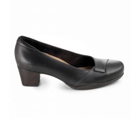 Clarks - Rosalyn Belle Brown Lthr Pump