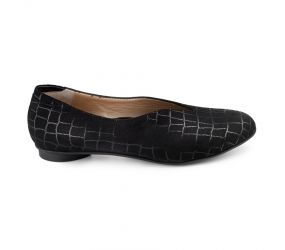 Beautifeel - Jolie Black Cocco Suede Slip On