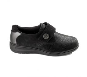 Solidus - Kate Black Stretch Velcro