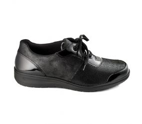 Solidus - Kate Black Stretch Oxford