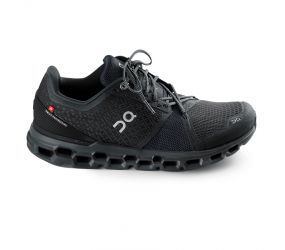 On Running - Men's Cloudstratus Black/Shadow