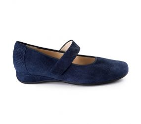 Hassia - Petra Navy Pins Suede MJ